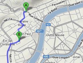 #14N #GrèveGénérale : le parcours liégeois