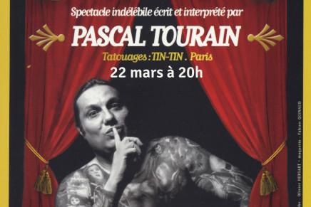 Pascal Tourain est «l'homme tatoué»