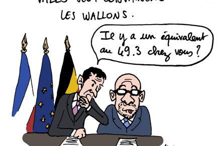 Négociations à la française