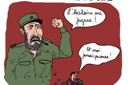 Mort de Castro, chute de Sarko