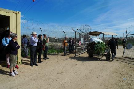 Les observatrices de checkpoints