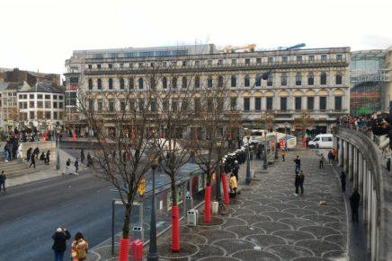 Tremblement de terre à Liège, Place Saint-Lambert, Samedi 13 Mars 2021, vers 15h
